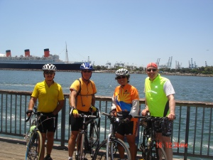 70 miles and the Queen Mary was fun!