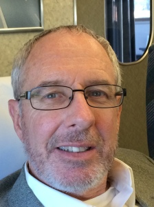 Mike on bullet train