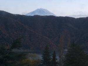 Mt Fuji at Lake Saiko